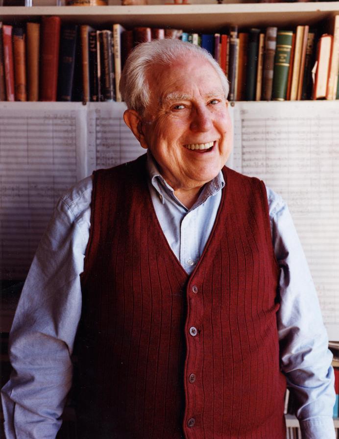 エリオット カーター逝去 103歳 ショット ミュージック